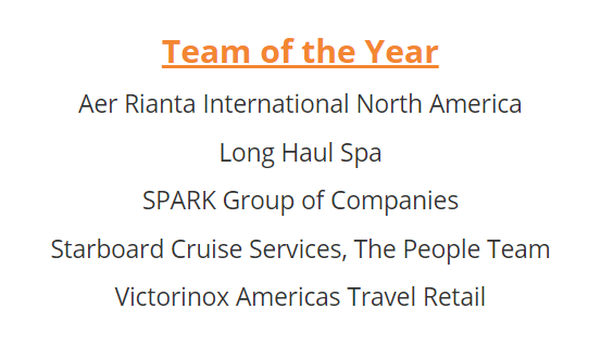 DFNI FRONTIER AWARDS SPARK Team of the Year